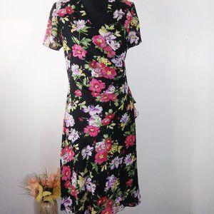 J.B.S.dress floral size 8